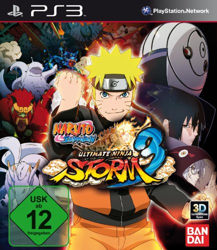 Naruto Shippuden: Ultimate Ninja Storm 3 - Ps3 Naruto Ultimate Ninja