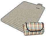 Honeystore 200*150 Oxford Yoga Matte Strand Ausflug Picknickdecke mit wasserabweisender Unterseite A05