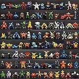 144 Stuks Pokemon Poppen Leuke Mini Figuren 2-3 cm Speelgoed Beeldjes voor Kinderen Kantoor Decoraties