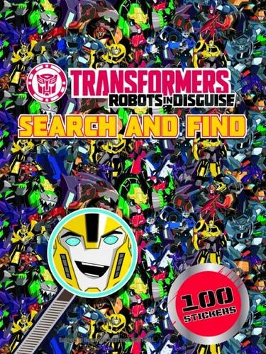 Search and Find: Transformers Robots in Disguise (Transformers Search & Find)