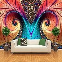 NMW Art Murals, Arte de personalización, Escultura Abstracta de Color, Papel Pintado para Sala de Estar, Comedor, galería, Ver Imagen, 1 ㎡