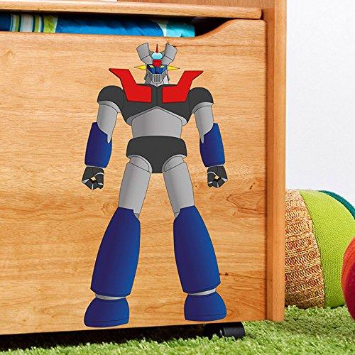 "IDEAVINILO - Sticker ""Robot Justiciero 2"". Medidas: 28x31cm"