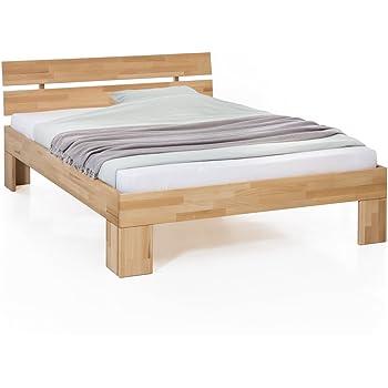 0518c87887 Unbekannt Massivholz-Bett Nano 180 x 200 cm aus Kernbuche, Doppelbett, als  Ehebett