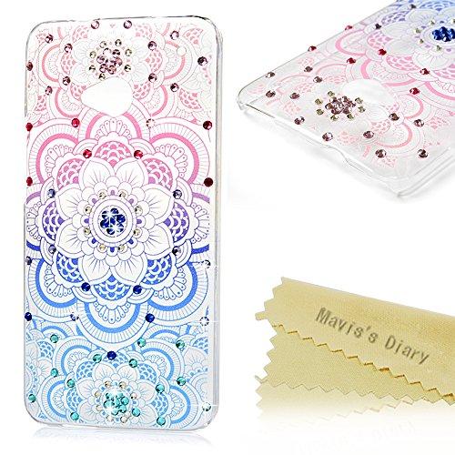 htc-one-m7-case-maviss-diary-3d-handmade-bling-crystal-diamond-colorful-totem-flower-shiny-sparkle-r