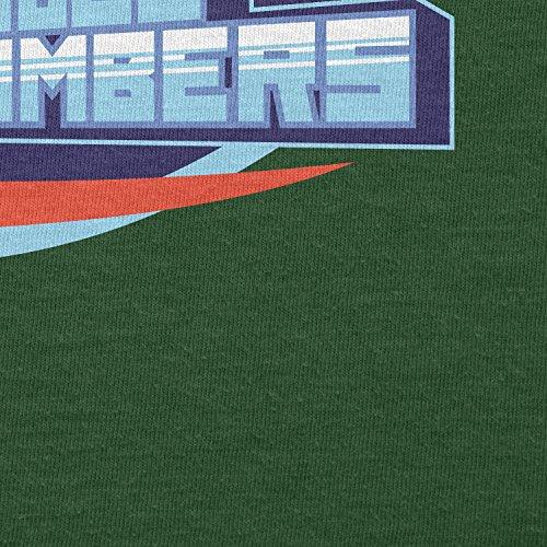TEXLAB - Blue Bombers - Herren T-Shirt Flaschengrün