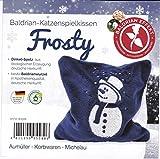 Frosty - Weihnachtsedition - Baldrian Katzenspielkissen