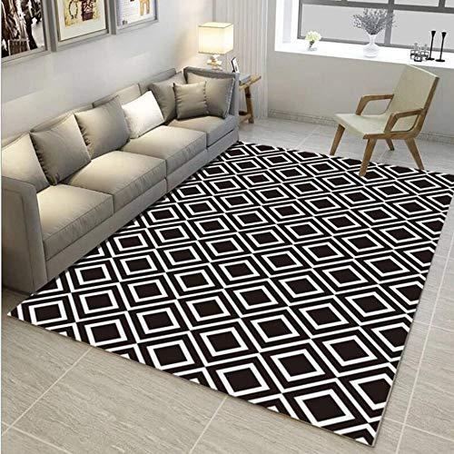 Gongdi tappetti tappeto nordic geometrica semplice e moderno pad porta soggiorno tavolino divano camera da letto cuscino cuscino rettangolare antiscivolo mat 140 * 200