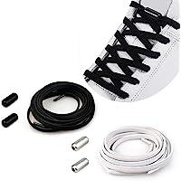 YuhooTech Lacci Elastici Delle Scarpe Lacci Senza Nodo No Tie Lacci Scarpe Stringhe Elastiche Lacci Elastici per Scarpe…