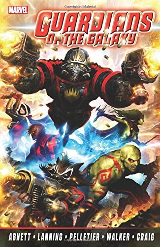 Portada del libro Guardians of the Galaxy by Abnett & Lanning: The Complete Collection Volume 1 by Dan Abnett (2014-08-12)