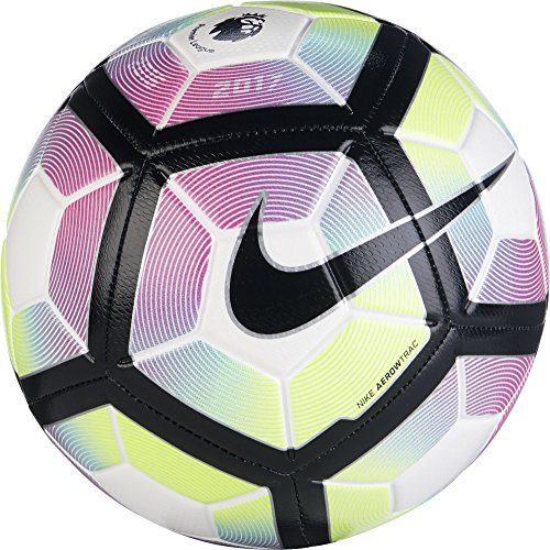 Nike Strike Premier League Balón, Unisex adulto, Blanco / Blue / Negro, 5