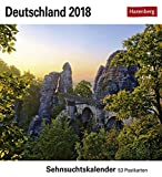 Deutschland - Kalender 2018: Sehnsuchtskalender, 53 Postkarten -