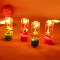 Creative Happy Birthday Cakes Candle Wedding Party Festival Dreams Proposals DIY Colorful Flames ToDIDAF 6Pcs Colored Flame Candle 6x0.5x0.5cm