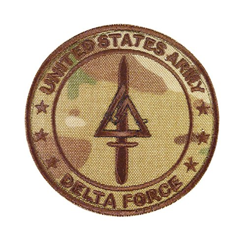 2AFTER1 Multicam Call of Duty COD Delta Force US Army Operational Detachment SFODA-D SFG Sew/Iron on Patch -