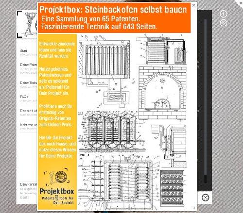 Steinbackofen selbst bauen: Deine Projektbox inkl. 65 Original-Patenten bringt Dich mit Spaß - Selber Pizzaöfen Bauen