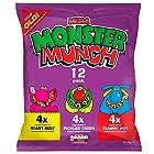 Mega Monster Munch Variety Snacks, 22g (12 Pack)