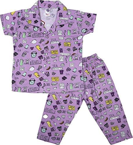 Nauti Kidz Boys' Cotton Night Suit Set (NK051PCBFASTVL-6-12Months, Multi-Coloured, 6-12Months)