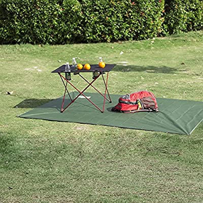 Outry Waterproof Multi-Purpose Tarp - Tent Stakes Included - 3 by OUTRY