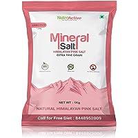 NutroActive MineralSalt Himalayan Pink Rock Salt Extra Fine Grain - 1 kg