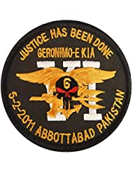 Operation Neptune Spear Marine Navy Seals Devgru ST6 Bin Laden Pakistan Morale Hook-and-Loop Écusson Patch