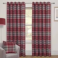 Möbel & Wohnen Bettwäschegarnituren Edinburgh Einzeln Rot Tartan Schottenstoff Wendbare Baumwolldecke Decke Set