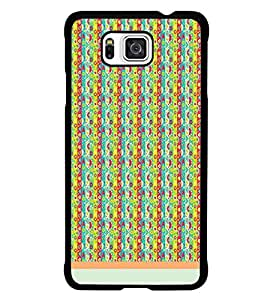 PrintDhaba Pattern D-1219 Back Case Cover for SAMSUNG GALAXY ALPHA (Multi-Coloured)