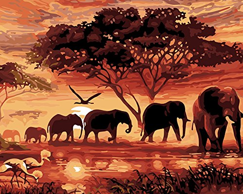 Elefanten 5D Diamant Wandbild Ölgemälde Kit Strass Stickerei Kreuzstich DIY Art Craft Home Decor (30x 25cm)