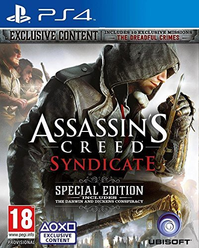 Assassin's Creed Syndicate Special Edition (PEGI) (USK 18 Jahre) PS4 by UbiSoft GmbH