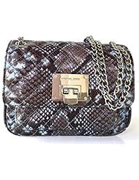 Rishil World MICHAEL Michael Kors Small Sloan Snake-Embossed Shoulder Bag