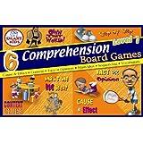 6 Reading Comprehension Board Games Level 1