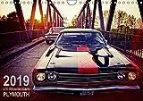 US-Muscle-Cars - Plymouth (Wandkalender 2019 DIN A4 quer): Zwei echte amerikanische Oldtimer-Boliden der 60er (Monatskal