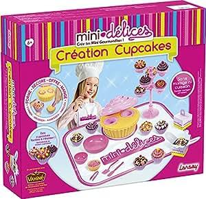 lansay 17855 loisirs cr atifs mini d lices cr ation cupcakes jeux et jouets. Black Bedroom Furniture Sets. Home Design Ideas
