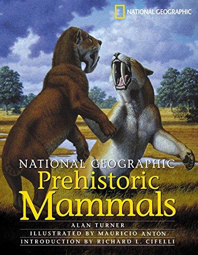 National Geographic Prehistoric Mammals por Alan Turner