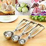 Best Cookie Scoops - K Kudos Enterprise Stainless Steel Ice Cream Scoop Review