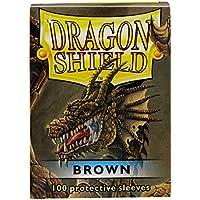 Arcane Tinmen AT-10011 - Dragon Shield - Pellicole protettive, marrone, confezione da 100 pezzi
