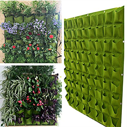 72-pocket-outdoor-indoor-wall-balcony-herbs-vertical-garden-hanging-planter-bag-green