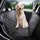 Autoschondecke für Hunde, G-TEXNIK Hundedecke Auto für Rückbank Wasserdichte Hunde Autoschondecke mit Seitenschutz und Kratzfest, Super Weich Rutschfest Hunde-Decke für alle Automodell, Universalgröße 57