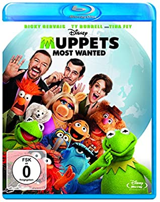 Muppets Most Wanted [Blu-ray]