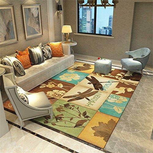 Designer Rectangulaire Tapis Simple Creative Tapis D'impression dans la Chambre et Salon Maison Table Basse Chevet Anti-dérapant Tapis (taille : 120 * 160cm)