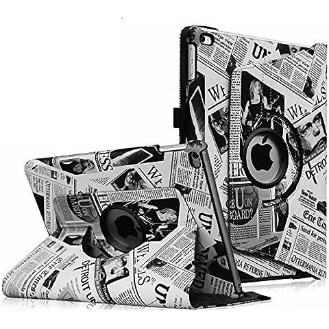Fintie iPad Air 2 Funda - Giratoria 360 grados Smart Case Funda Carcasa con Función y Auto-Sueño / Estela para Apple iPad Air 2 (iPad 6th Generación 2014 Versión) 9.7 Inch iOS Tableta,