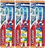 Colgate - Brosse à Dents Triple Action - Souple - Lot de 3