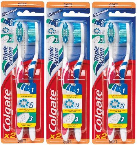 colgate-brosse-a-dents-triple-action-souple-lot-de-3