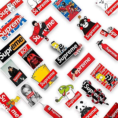Tinyuet Stickers, Sticker 50 Pcs-Supreme Refrigerator