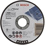Bosch 2 608 603 512  - Disco de corte recto Best for Metal - Rapido - A 60 W BF, 115 mm, 1,0 mm (pack de 1)