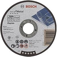 Bosch 2 608 603 512 - Disco de corte recto Best for Metal - Rapido - A 60 W BF, 115 mm, 1,0 mm (pack de 1)