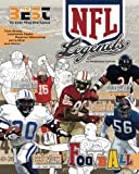 NFL Legends: The Ultimate Coloring, Activity and Stats Football Book for Adults and Kids: Volume 2 (35 BEST BIOGRAPHY)