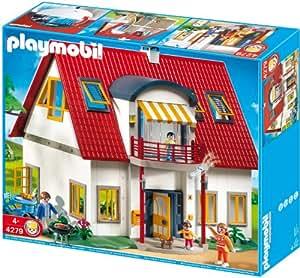 4279 neues wohnhaus for Casa moderna playmobil 9266