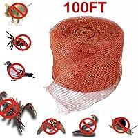 "GuTen 5""X30M/100FT Malla de cobre tejida para el control de plagas, Ratón, Rata, Roedor, Caracol, Aves, Control de murciélagos"