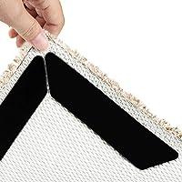 VIDEN Antirutschmatte für Teppich, 10 Stück Teppichgreifer Antirutschmatte Doppelseitiger Rug Grippers Washable…