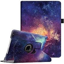 Fintie iPad Air 2 Funda - Giratoria 360 grados Smart Case Funda Carcasa con Función y Auto-Sueño / Estela para Apple iPad Air 2 (iPad 6th Generación 2014 Versión) 9.7 Inch iOS Tableta, Galaxy