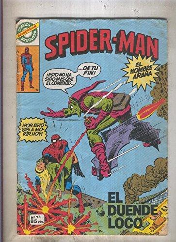 Comics Bruguera: Spiderman numero 28 (numerado 2 en trasera)